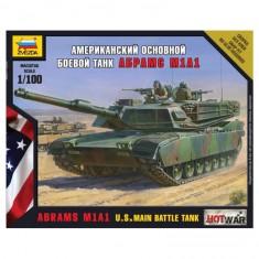 Maquette char 1/100 : Abrams M1A1