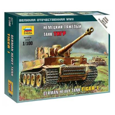 Maquette char allemand Tiger I - Zvezda-Z6256