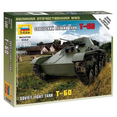 Maquette char léger soviétique T-60 - Zvezda-Z6258