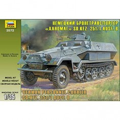 Maquette Half-track: Sd.Kfz.251/1 Ausf.B Hanomag