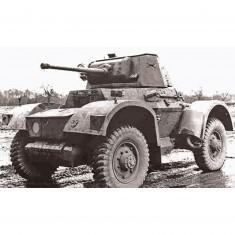 Maquette véhicule militaire : Automitrailleuse Daimler Mk.I