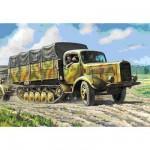 Maquette véhicule militaire: Halftrack allemand Maultier L4500R