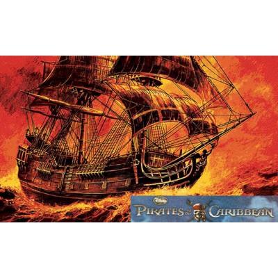 Maquette voilier : Black Pearl Pirate des Caraïbes - Zvezda-9037