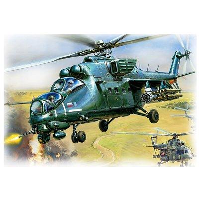 Maquette hélicoptère: MiL Mi-35 - Zvezda-7276