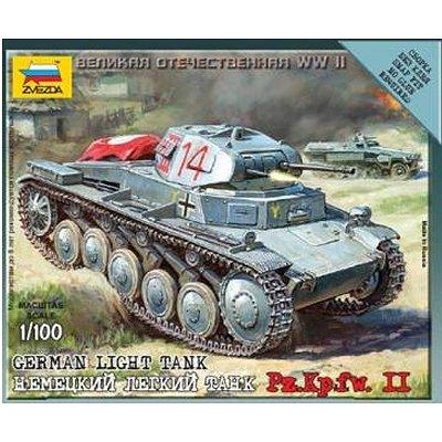 Maquette Char: German Panzer II - Zvezda-6102