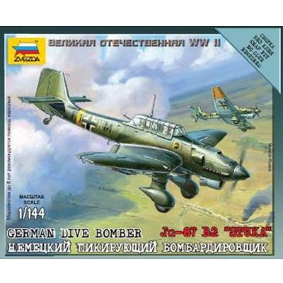 Maquette avion: Mini Kit: Junkers JU87B Stuka - Zvezda-6123