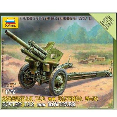 Maquette Obusier soviétique M30 122mm - Zvezda-6122