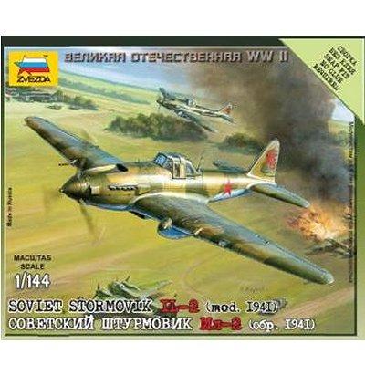 Maquette avion: Mini Kit: Illiouchine Il-2 Stormovik - Zvezda-6125
