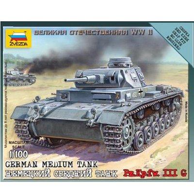 Maquette Char: Tank Panzer III Allemand - Zvezda-6119