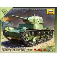 Maquette Char: Tank Soviétique T26