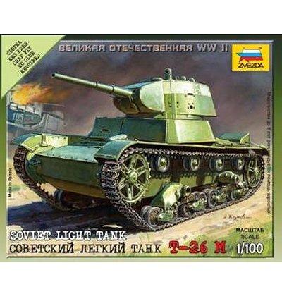Maquette Char: Tank Soviétique T26 - Zvezda-6113