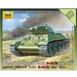 Maquette Char: Tank Soviétique T34/76