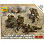 Figurines 2ème Guerre Mondiale : Mitrailleurs britanniques 1939-1943