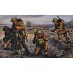 Figurines 2ème Guerre Mondiale : Mortier britannique