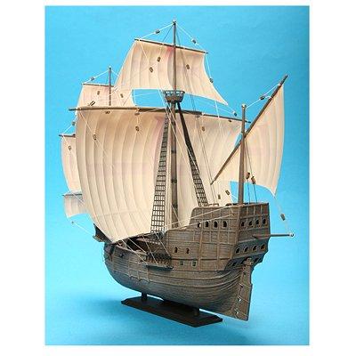 Maquette bateau: Navire de conquistadors XVIème siècle - Zvezda-9008
