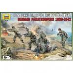 Figurines 2ème Guerre Mondiale : Parachutistes allemands: Crète 1941