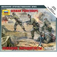 Figurines 2ème Guerre Mondiale : Parachutistes allemands