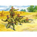 Figurines 2ème Guerre Mondiale : Parachutistes soviétiques