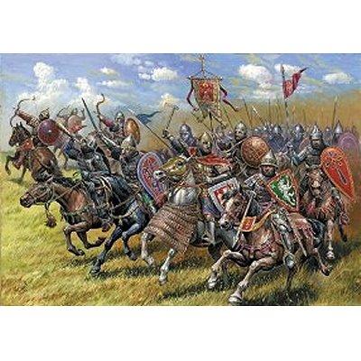 Figurines médiévales: Chevaliers Russes - Zvezda-8039