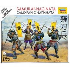 Figurines Japon médiéval : Samouraï-Naginata
