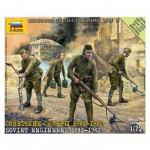 Figurines 2ème Guerre Mondiale : Sapeurs soviétiques