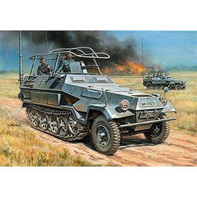 Maquette Half-track: Sd.Kfz.251/3 Ausf.B  - Zvezda-3604