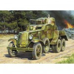 Maquette Automitrailleuse soviétique BA-10