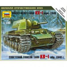 Maquette Charsoviétique KV-1 Modèle 1940