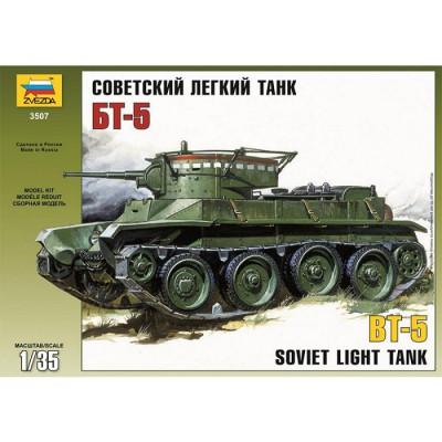 Maquette Charléger soviétique BT-5 - Zvezda-3507