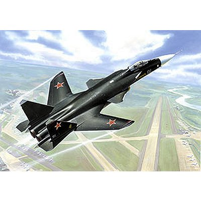 Maquette avion: Sukhoi Su-47 - Berkut - Zvezda-7215