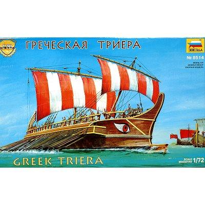 Maquette bateau: Triere Grecque - Zvezda-8514