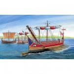 Maquette bateau: Trirème Romaine