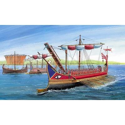 Maquette bateau: Trirème Romaine - Zvezda-8515