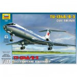 Maquette avion: Tupolev TU-134B