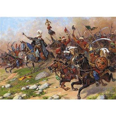 Figurines Cavalerie Turque XVI-XVIIème siècle - Zvezda-8054