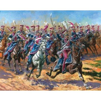 Figurines Guerres napoléoniennes: Uhlans Polonais - Zvezda-8075