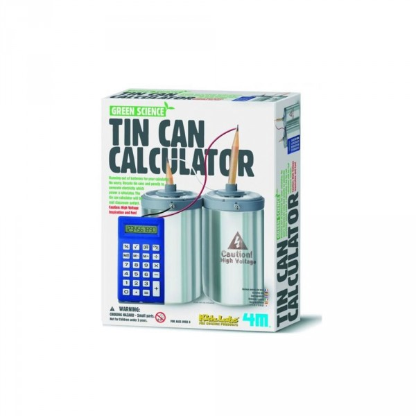 Kit de fabrication Green Science : Calculatrice Canette - Dam-5603360