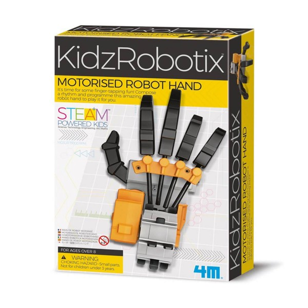 Kit de fabrication KidzRobotix : Robot main - Dam 4M-5603407