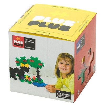 jeu de construction box midi basic 100 pi ces puzzle plus plus rue des puzzles. Black Bedroom Furniture Sets. Home Design Ideas