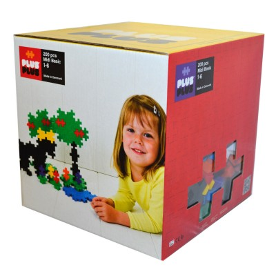 jeu de construction box midi basic 200 pi ces puzzle plus plus rue des puzzles. Black Bedroom Furniture Sets. Home Design Ideas