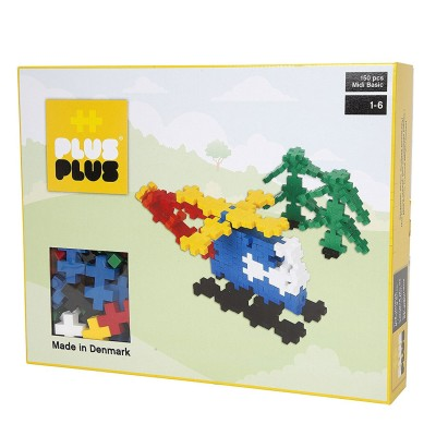 jeu de construction plus plus box midi basic heli 150 pi ces puzzle plus plus rue des puzzles. Black Bedroom Furniture Sets. Home Design Ideas