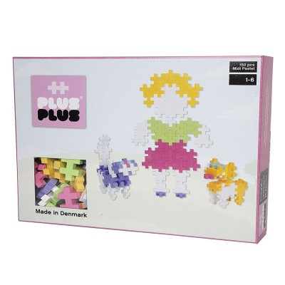 jeu de construction plus plus box midi pastel 150 pcs puzzle plus plus rue des puzzles. Black Bedroom Furniture Sets. Home Design Ideas