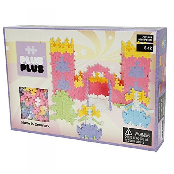 jeu de construction plus plus box mini pastel 760 pi ces jeux et jouets plus plus avenue. Black Bedroom Furniture Sets. Home Design Ideas