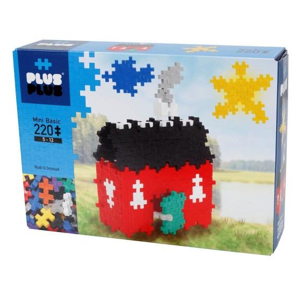 jeu de construction plus plus basic maison 220 pices plusplus pp3749 - Jeu De Construction De Maison Gratuit