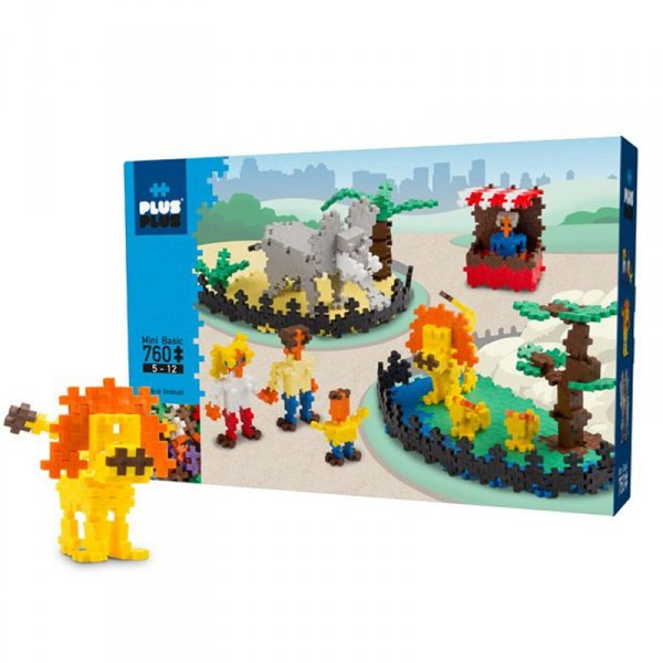 Jeu de construction : Plus Plus Mini Basic - Zoo - PlusPlus-PP3750
