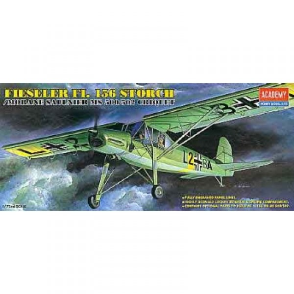 Maquette avion : FI-156 Storch - Academy-1661