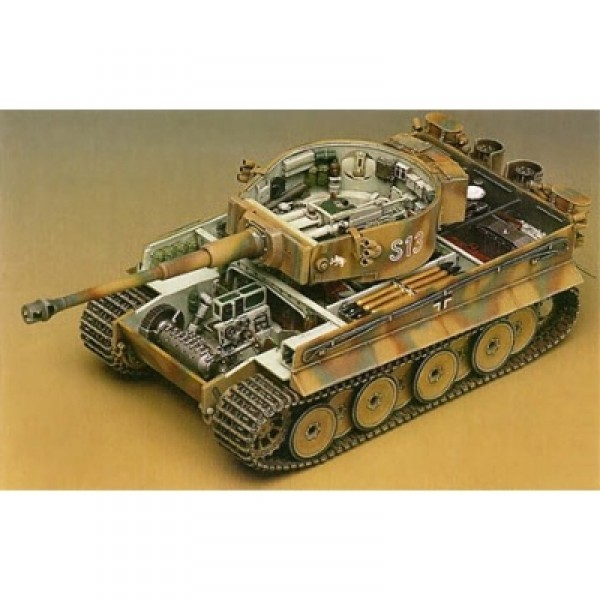 Maquette Char : German Tiger 1 Early Version - Academy-1348