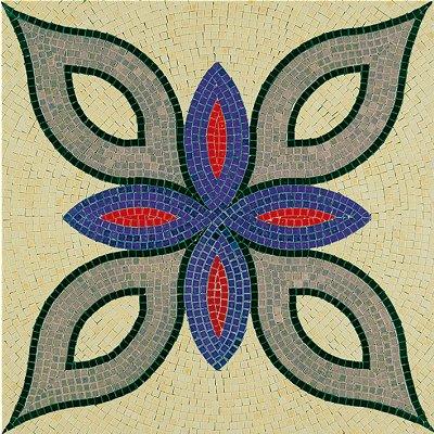 Mosaique En Ceramique mosaïque en céramique émaillée : forme géométrique 2 - aedes - rue