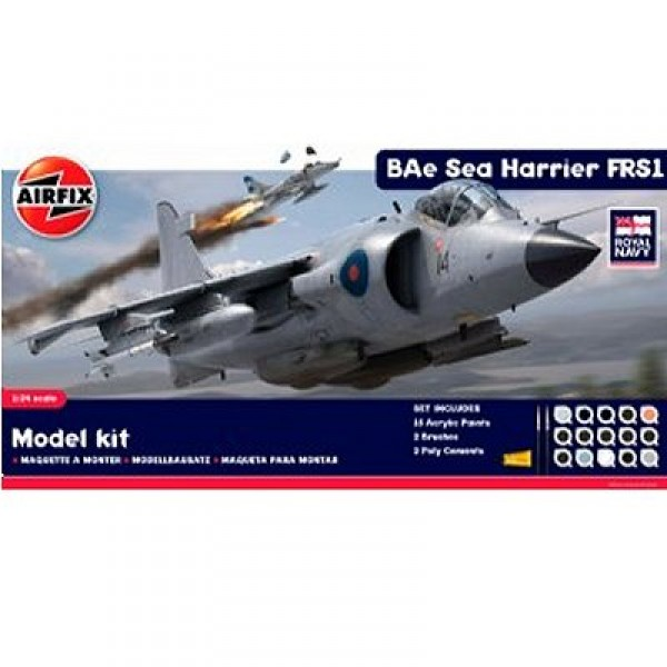 Maquette avion : BAe Sea Harrier FRS1 - Model Kit - Airfix-50010