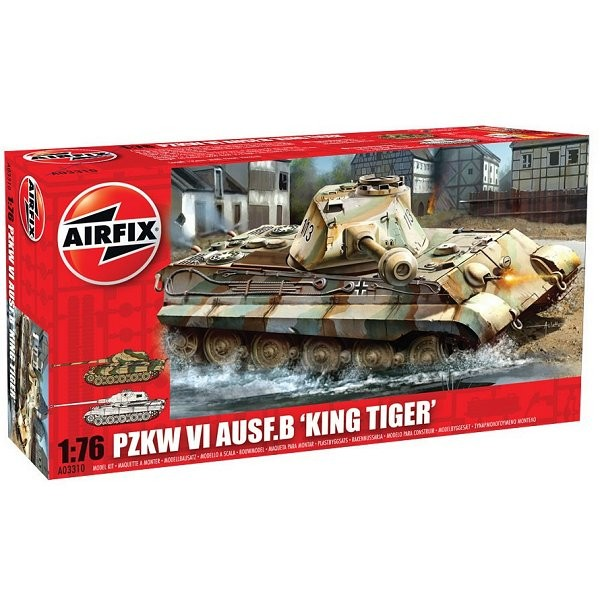 Maquette Char : King Tiger Tank - Airfix-03310